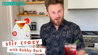 'Queer Eye' Star Bobby Berk Made You the PERFECT At Home Cocktail | Stir Crazy | Cosmopolitan