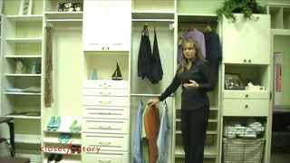 Organize and Easily Find Clothes in a Closet with Limited Light Thumbnail