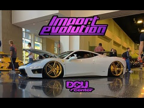 IMPORT EVOLUTION DCU Center YouTube - Dcu center car show