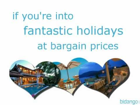 Introducing Bidango.co.uk Holiday Auctions