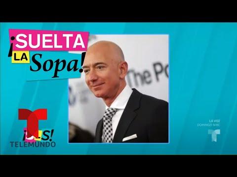 ¡Donald Trump se burla de Jeff Bezos! | Suelta La Sopa | Entretenimiento