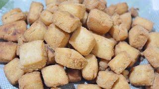 Sweet Kajada   Raw Rice Sugar Kajada    Sweet Cake   Easy evening Snacks