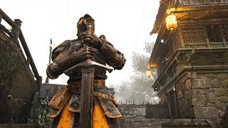 WARDEN KNIGHT BATTLES ► For Honor Alpha (DOMINION MODE) Multiplayer PC Gameplay
