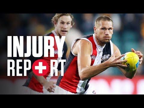 Download Injury Report: Round 13