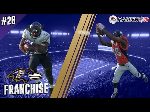 Unleash The Road Warriors | @ Broncos (S2,G2) | Madden NFL 18 Baltimore Ravens Franchise Ep. 28