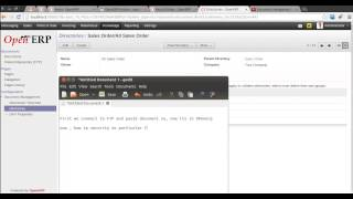 Document Management System in OpenERP 7.0 with FTP