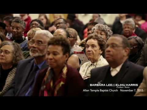 Dr Clayborne Carson and Dr Clarence Jones @ the Barbara Lee & Elihu Harris Lecture Series