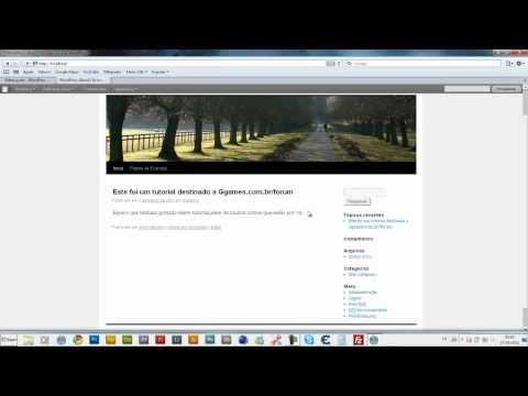 Instalando WampServer e Configurando WordPress em LocalHost(WWW.GGAMES.COM.BR)