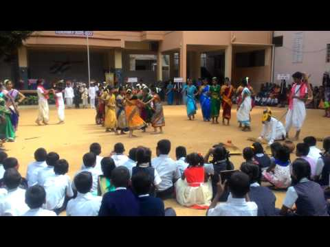 Independence day dance2016: Madonna School. B-lore