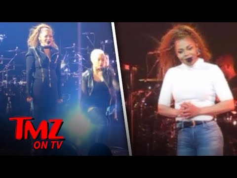Janet Jackson's First Show After Baby! | TMZ TV