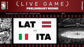 Latvia – Italy | Live | Group B | 2021 IIHF Ice Hockey World Championship