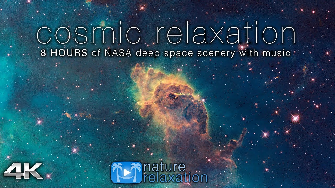 cosmic relaxation 8 hours of 4k deep space nasa footage chillout