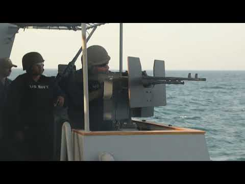 U.S. Navy Conducts Ready For Operations Exercise In The Arabian Gulf