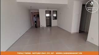 Bán cho thuê căn hộ Topaz Twins 77 m2 giá 2,05 tỷ 10tr/tháng