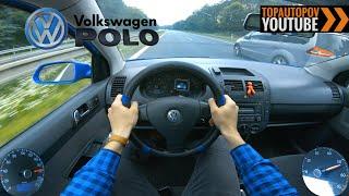 Volkswagen Polo 1.2HTP (44kW) | 4K TEST DRIVE POV - SOUND, ACCELERATION & OIL TROUBLE  #TopAutoPOV