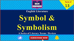 Term # 13 | What is Symbol / Symbolism | Definition of Symbol & Symbolism by Best English Notes