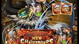 [OPTC] Chaos Coliseum: Capone 30 Stamina (3:02) - Double Legend Akainu