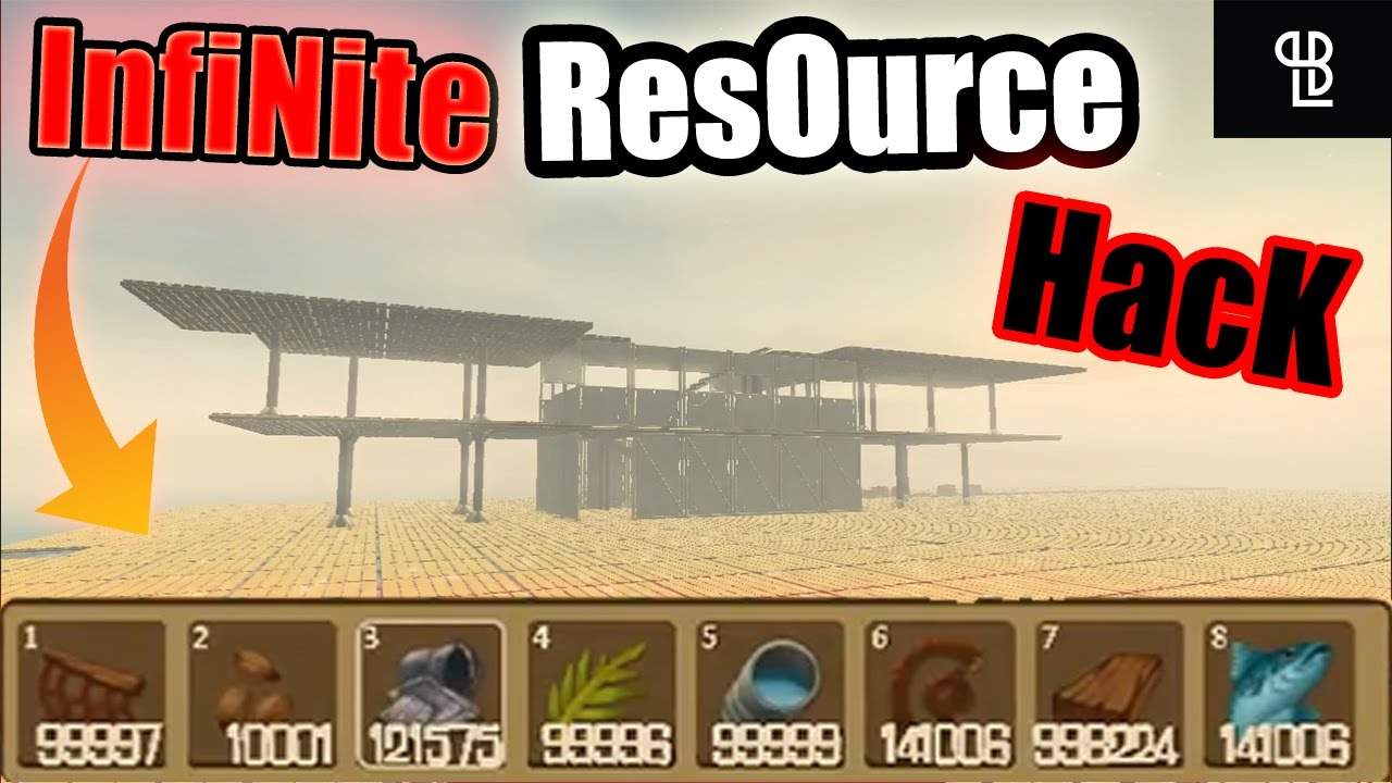 Infinite Resources HACK in <b>RAFT</b> | Building City Unlimited ...