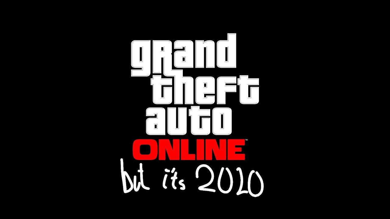 GTA Online trailer, but it's 2020