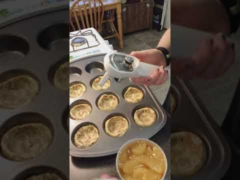 2 Ingredient Mini Apple Pie Cups Pampered Chef Style