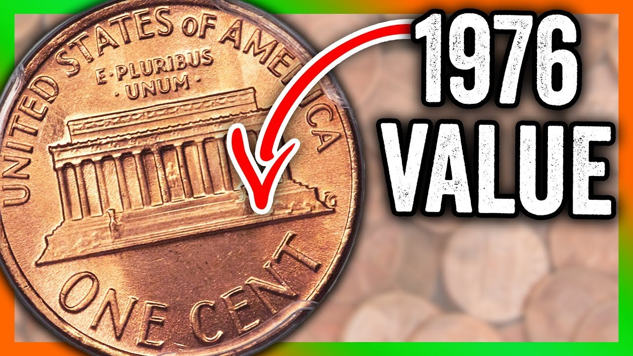 1976 PENNY VALUE - RARE PENNIES WORTH A LOT OF MONEY!!