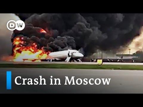 Moscow: 41 dead in Aeroflot crash at Sheremetyevo Airport | DW News