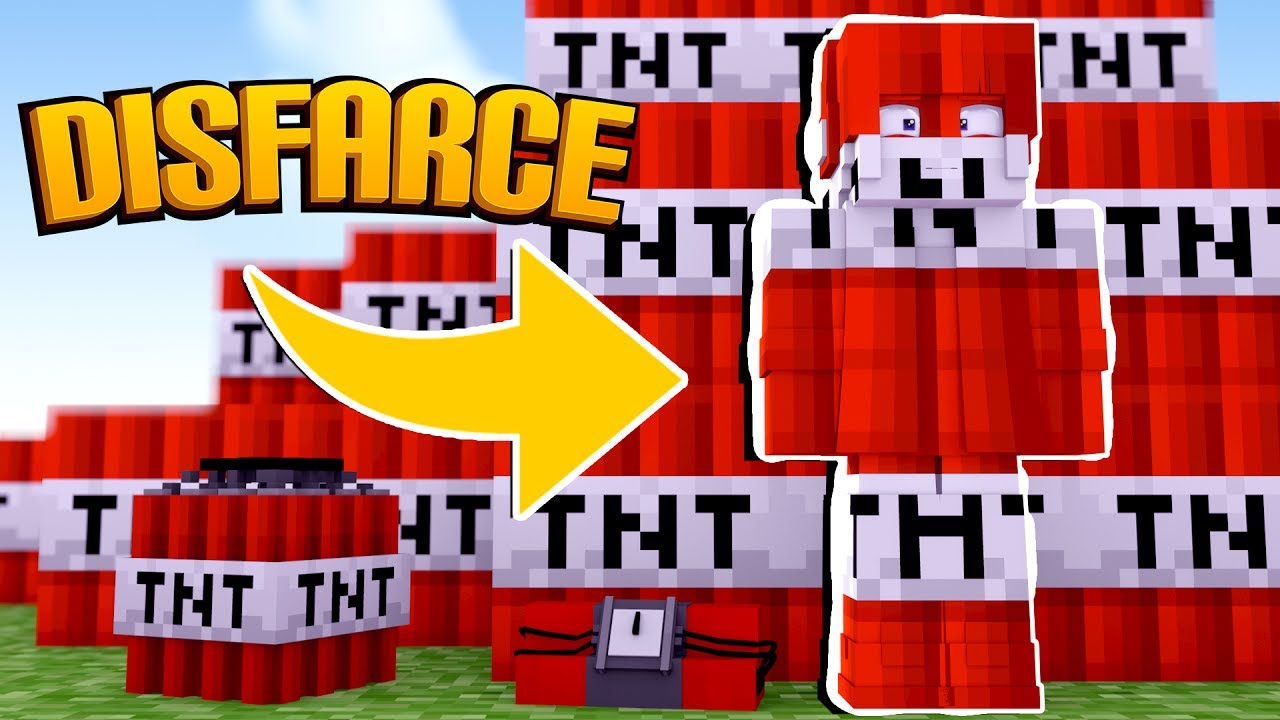 Minecraft: DISFARCE DE TNT - (Esconde-Esconde) #1