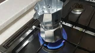 모카포터 커피내리기