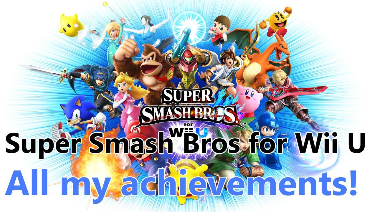 super smash bros for wii u all my achievements super smash bros for wii u all my achievements