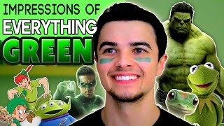Impressions of EVERYTHING Green! | Mikey Bolts