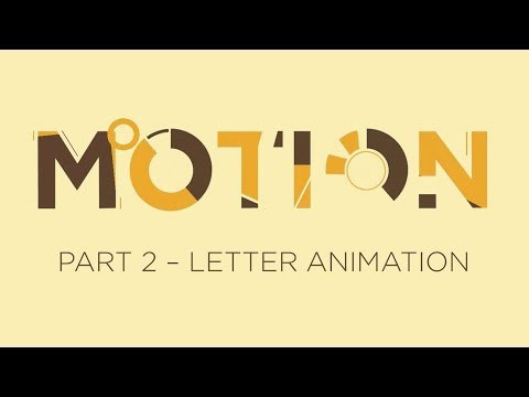 Flat Letter Animation in PowerPoint - Motion Graphics Tutorial - Part 2