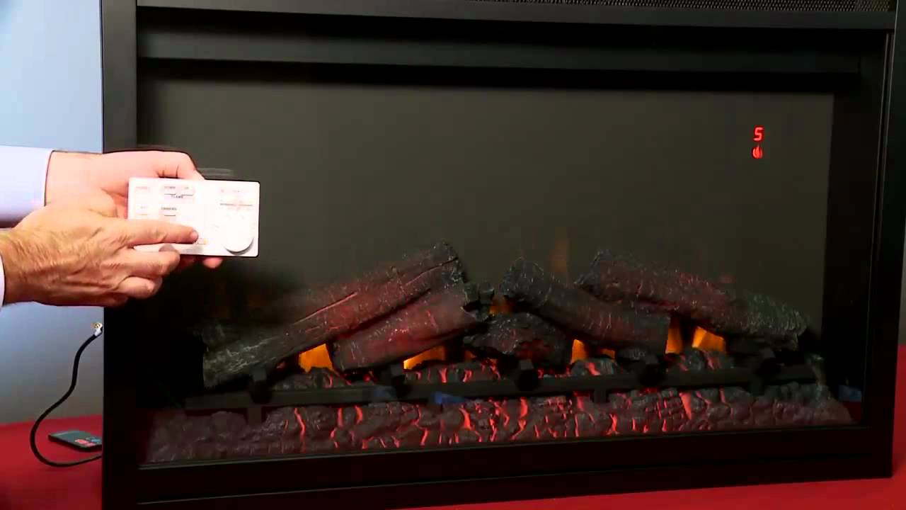 "http://ElectricFireplacesDirect.com - The ClassicFlame 36"" 110V built-in electric fireplace inserts offer unmatched realism and are a great alternative to wo..."