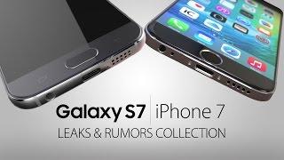 samsung galaxy s7 vs iphone 7 rumors leaks