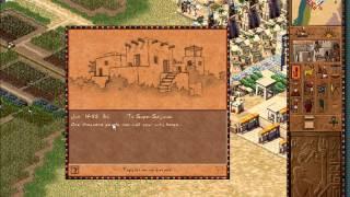 Pharaoh Walkthrough: Mission 25 - Thutmose in the Valley (Deir El-Medina 1) [1/2]