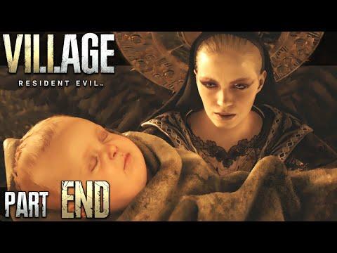 MUST SAVE THE BABY! - Resident Evil Village: Part 10 (Full Game Walkthrough) THE ENDING