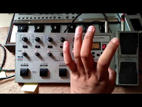 Setting korg AX1000 untuk Gitaris dangdut