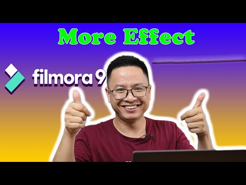 How To Download Free Effect and Delete Unused Packs In Filmora9