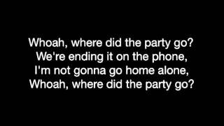 Fall Out Boy- Where did the party go (lyrics)