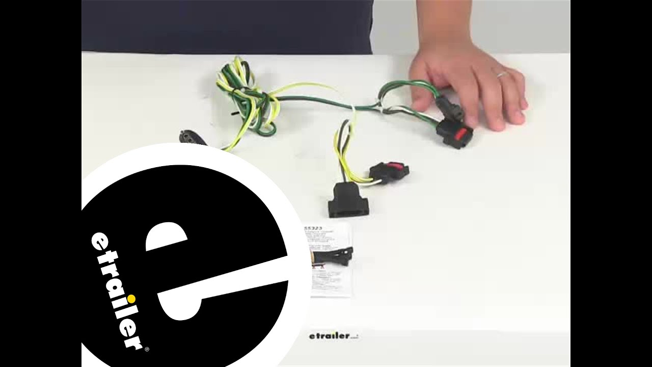 Curt Custom Fit Vehicle Wiring 55323 Review - etrailer.com - YouTube