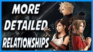 FF7 Remake Will Feature More Detailed Relationships!