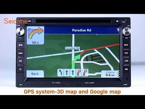 Aftermarket Navigation 1998-2005 VW Volkswagen Jetta Radio DVD GPS Stereo Upgrade with Bluetooth