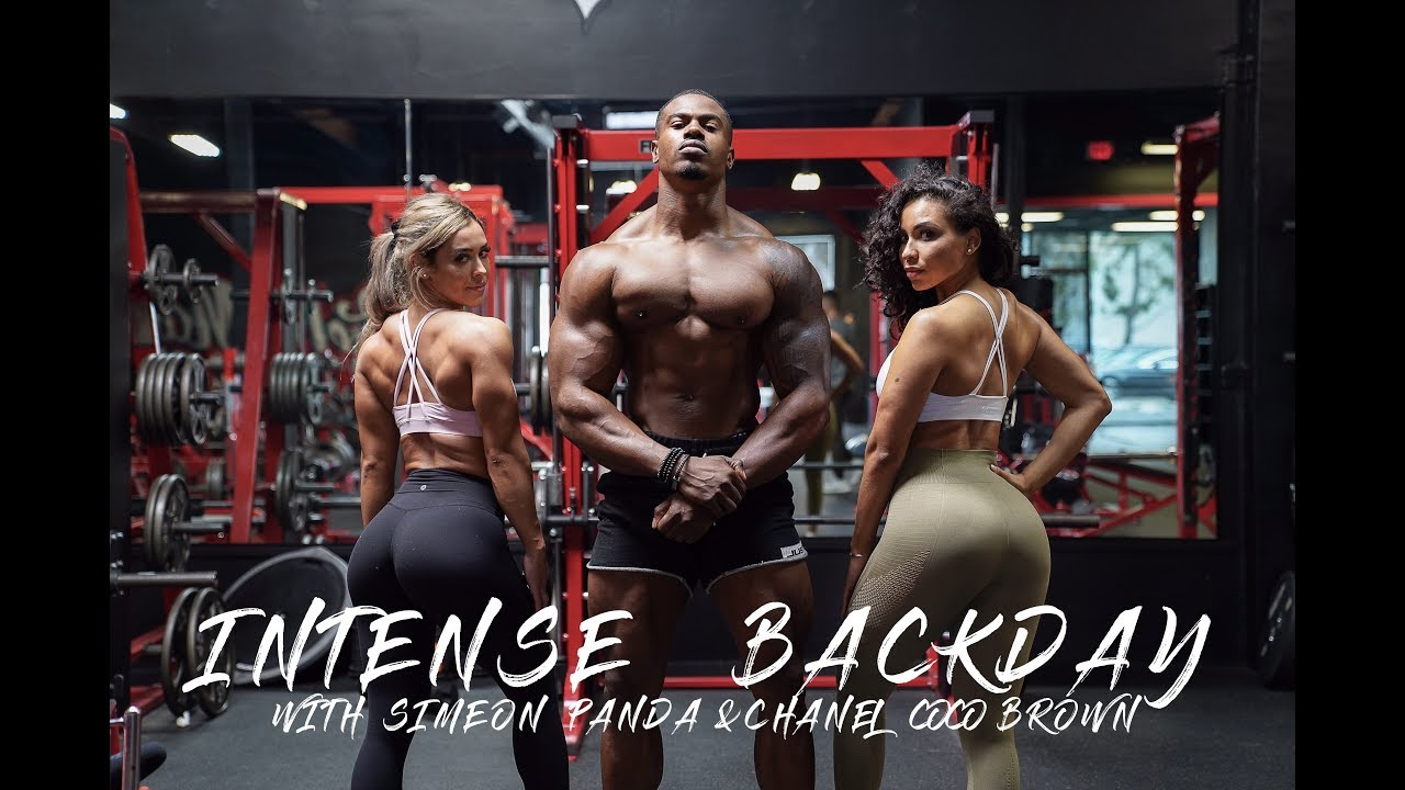 Intense Back Day With Simeon Panda & Chanel Coco Brown