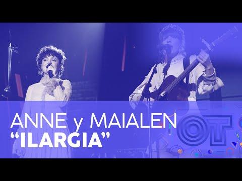 Anne y Maialen cantan 'Ilargia' en OT 2020