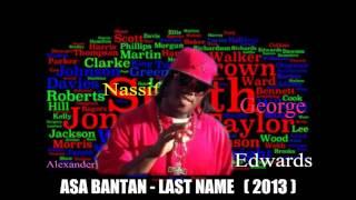 Asa Bantan , last name, ( bouyon 2013 )