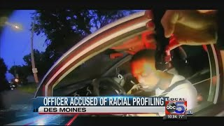 DMPD officer accused of racial profiling