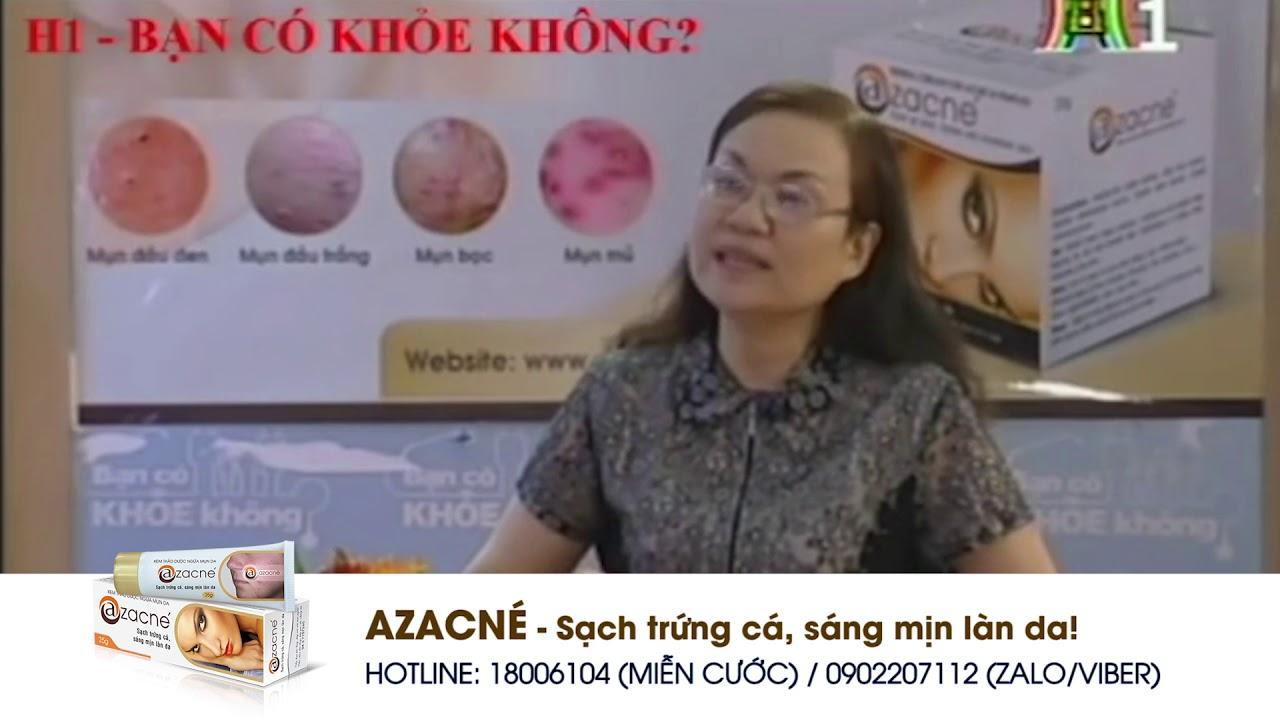 Điều trị mụn trứng cá bằng kem bôi thảo dược Azacné