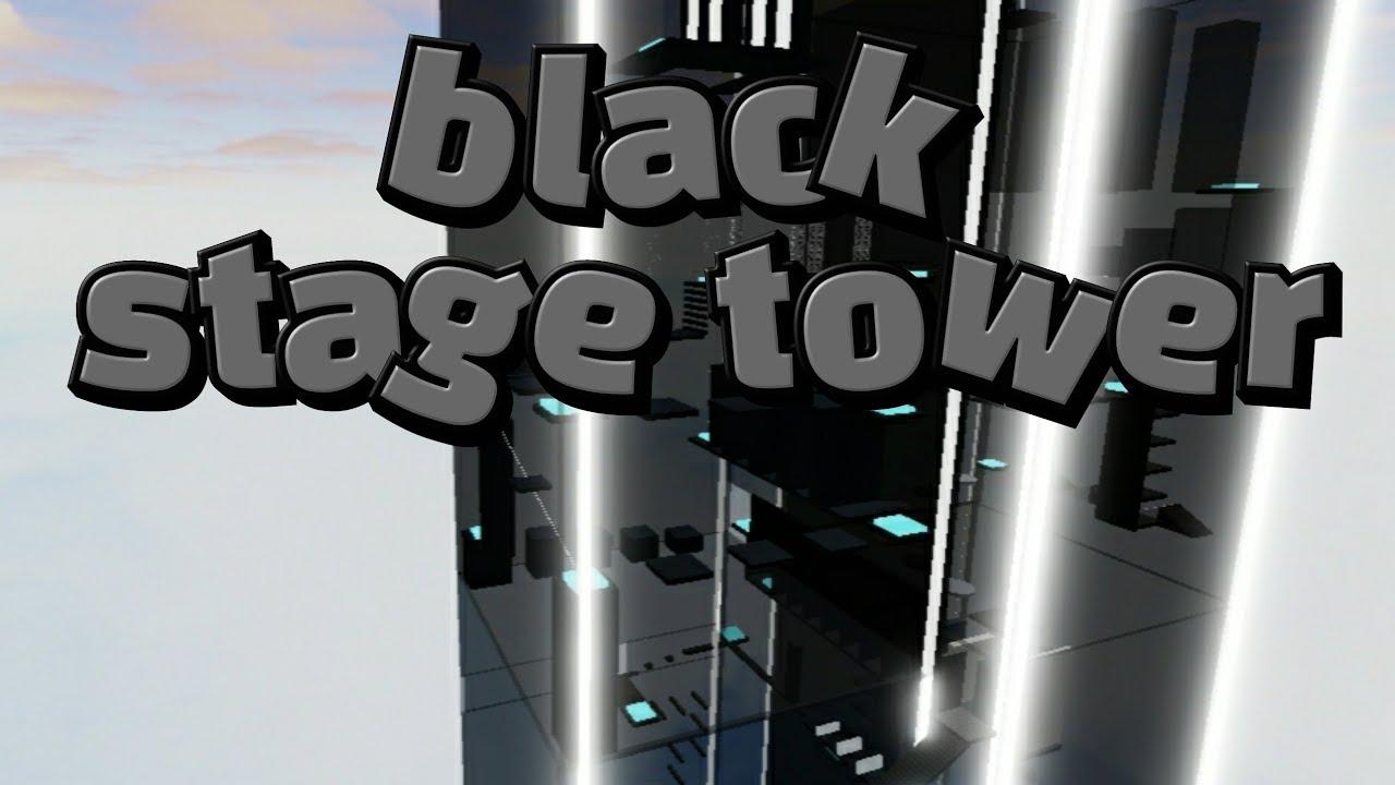[로블록스]black stage tower(블랙 스테이지 타워)