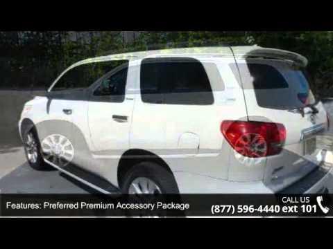 2010 Toyota Sequoia Platinum   Adventure Chevrolet Chrysler Jeep Mazda    Dalton, GA 30720