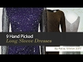 9 Hand Picked Long Sleeve Dresses By Patra, Winter 2017