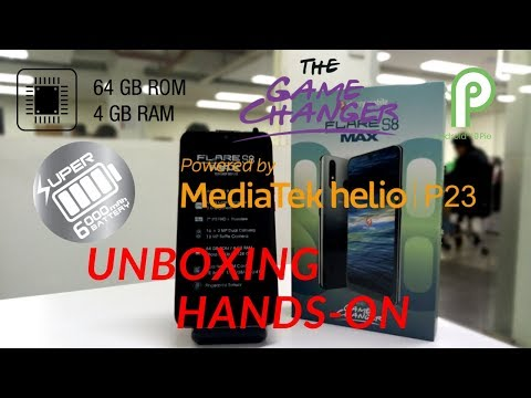 Unboxing: Cherry Mobile Flare S8 Max    Hands-on    Helio P23    Gaming    Camera    Benchmark